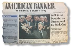 An American Banker cover from the 1990s, highlighting basis points.  Capturing growth starts with bps.